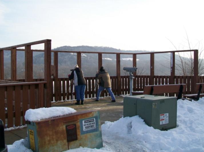 Eagle lookout platform