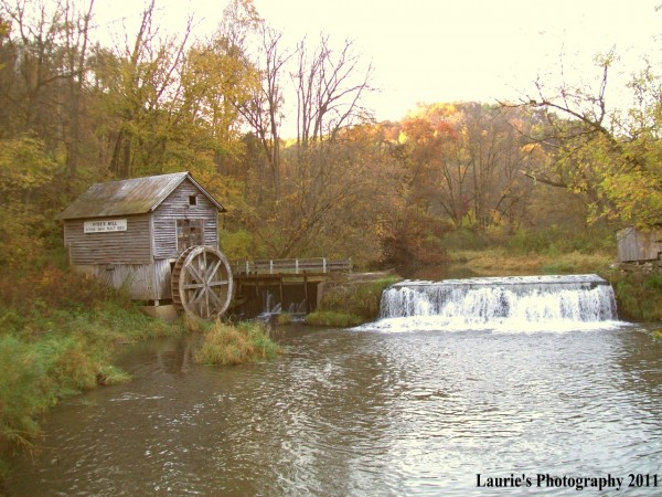 Hyde Mill in Autumn