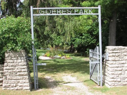 Goeres Park in Lodi, WI