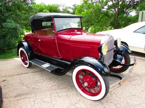 Model A car
