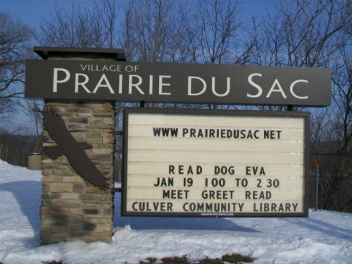 Prairie Du Sac sign