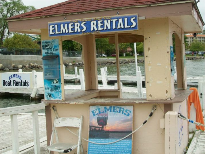 Elmer's Rentals at Lake Geneva