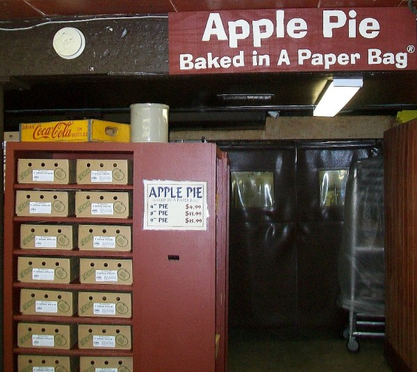 Apple Pie in bag
