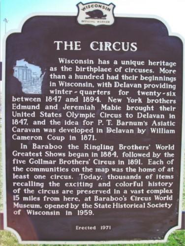 Circus Heritage in Baraboo