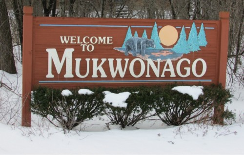 Mukwonago sign