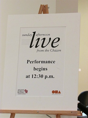 Performance sign