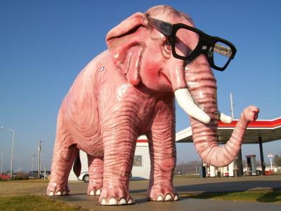 Pink elephant 400