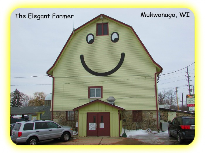 The Elegant Farmer Smiley Barn 3-9-13