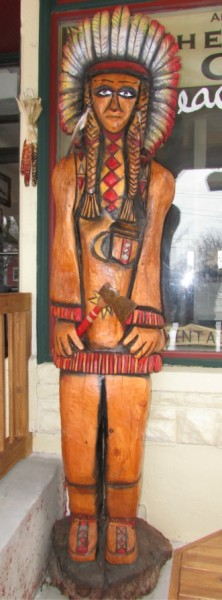 Wood Indian