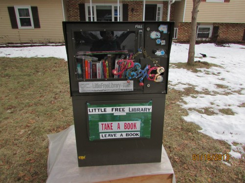 Little Free Library Newspaper machine