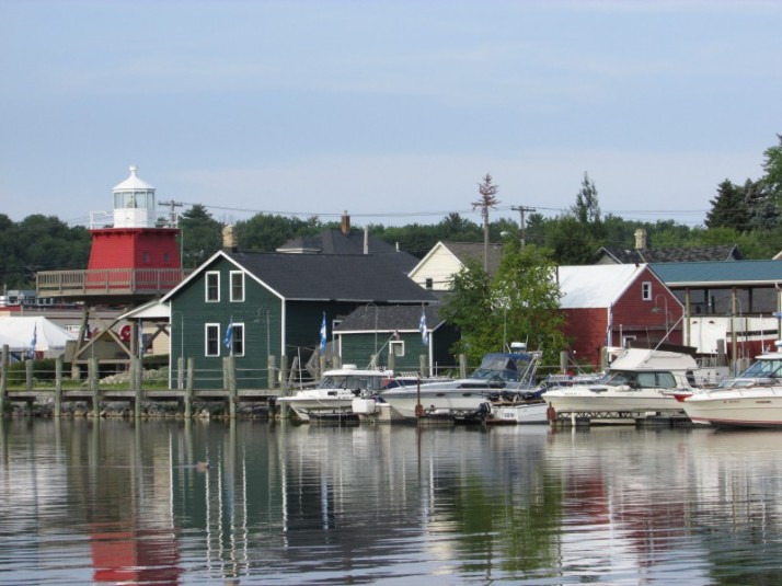Rogers Street Fishing Village in Two Rivers