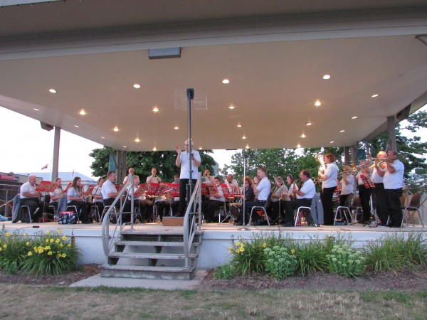 Two rivers Municipal Band 8-7-14