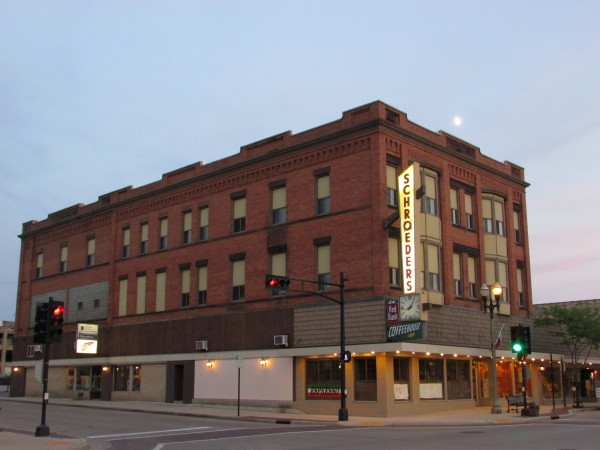 Red Bank Coffee House and Schroeder's Dept. Store