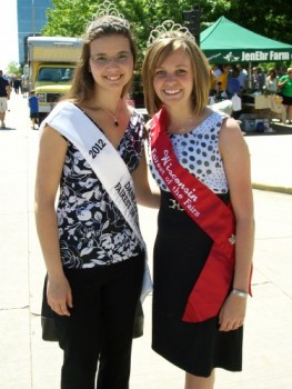 Fairest of the Fair ladies- 2011and 2012