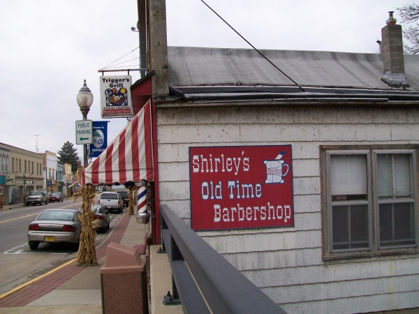 Shirley's Old Time Barbershop in Montello