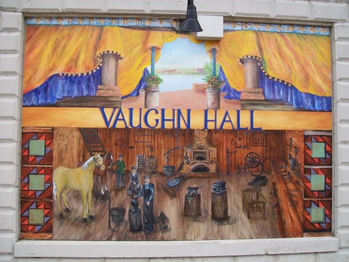 Vaughn Hall Mural in Montello