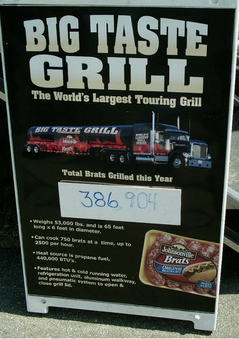 Big Taste Grill facts