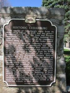 Cedarburg History