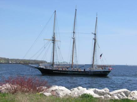 Denis Sullivan shakedown cruise