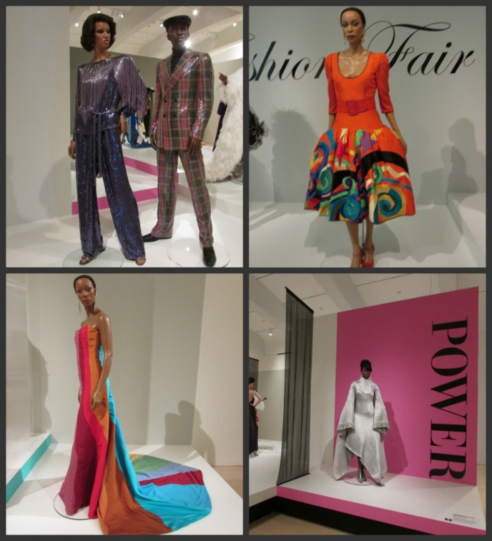 Ebony fashion show at Milwaukee Art Museum