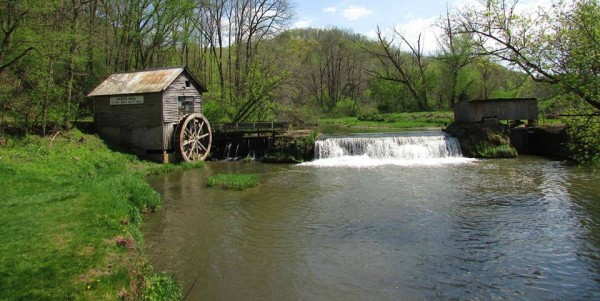Hyde Mill in Spring