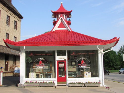 Cedarburg Pagoda Gas station building