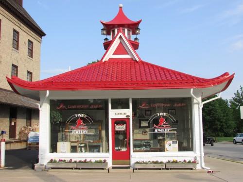 Cedarburg Pagoda Gas station building