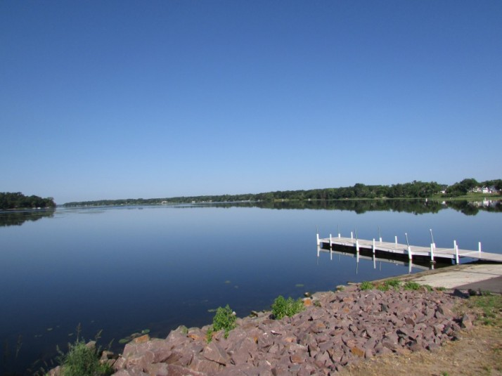 Buffalo Lake from launch in Montello