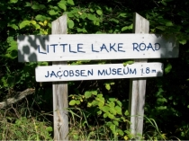 Little Lake Road sign