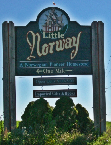 Little Norway sign 2
