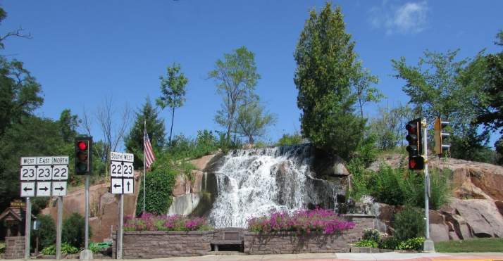Montello Lions Club Waterfall