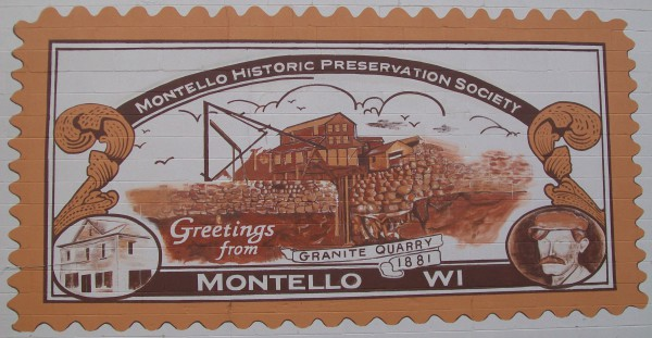 Montello mural