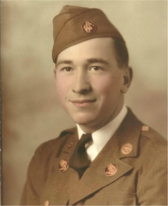My Grandfather, Norman R. Braton. Army Captain in WWII