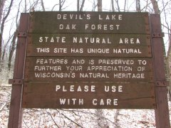 Oak Forest sign