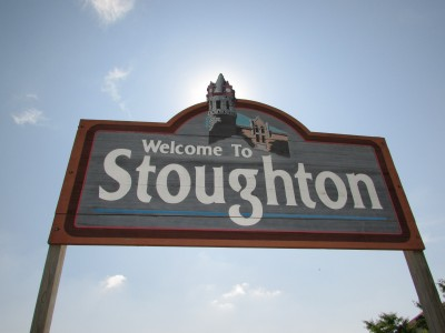 Stoughton sign