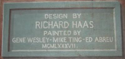 Mural plaque