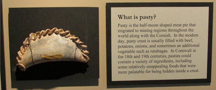 Pasty history