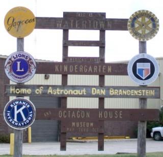 Watertown sign