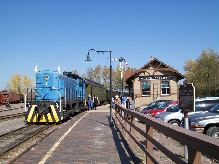 Mid-Continent Railway Diesel Train