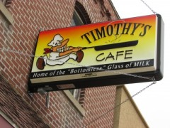 Timothy's Cafe in Fennimore