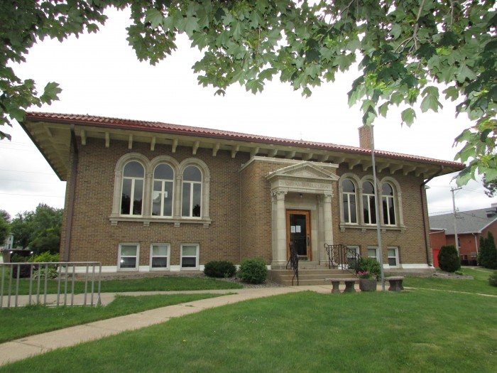 Historic Dwight Parker Library