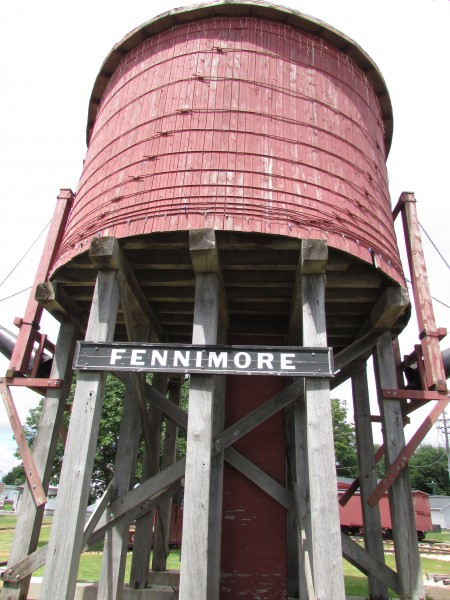 Fennimore Railroad Museum Water Tower