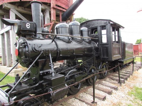 Narrow-Gauge Steam Locomotive