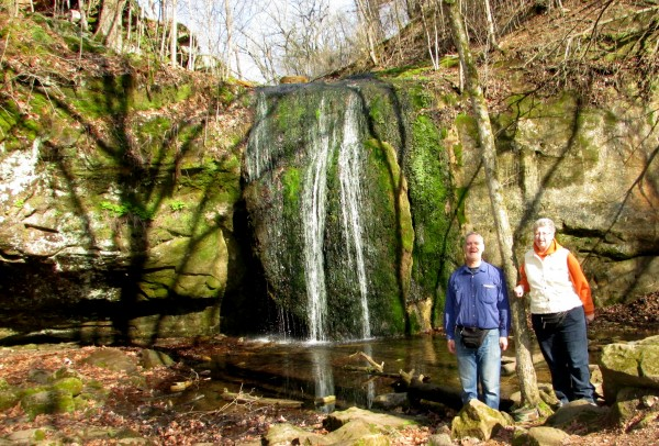 Al and Laurie Stephens Falls
