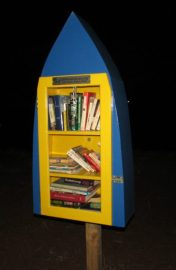Free Little Library in Marshall