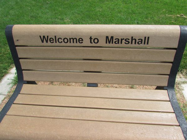 Welcome to Marshall bench