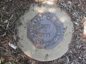 Centennial Park time Capsule