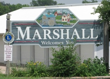 Marshall sign