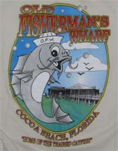 Old Fisherman's Wharf shirt