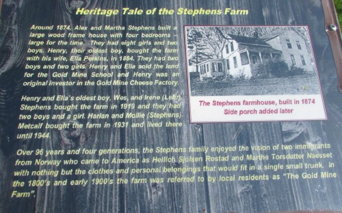 Stephen's Farm sign